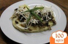 Фото рецепта: «Картофельное пюре с грибами и сыром»