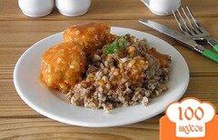 Фото рецепта: «Тефтели с сырым рисом в томатной подливе»