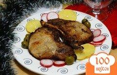 Фото рецепта: «Стейки из свиной корейки на гриле»