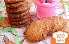 Фото рецепта: «Кунжутное печенье»