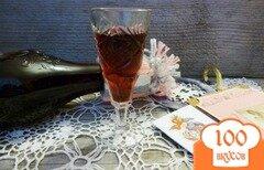 Фото рецепта: «Настойка на черноплодной рябине с цедрой апельсина»