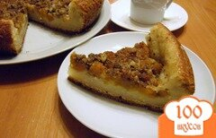 Фото рецепта: «Пирог с тыквой на творожном тесте»