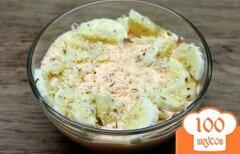Фото рецепта: «Творожный мусс с печеной тыквой и бананом»