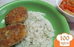 Фото рецепта: «Котлеты с картофелем и кукурузой»