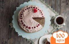 Фото рецепта: «Шоколадный торт со сливочным кремом»