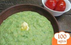 Фото рецепта: «Картофельное пюре с репой и шпинатом»