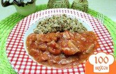 Фото рецепта: «Подлива из томата и колбасы»