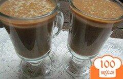 Фото рецепта: «Напиток из тыквы на молоке с шоколадом»