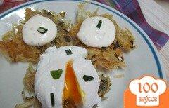 Фото рецепта: «Рости с яйцом пашот»