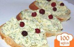 Фото рецепта: «Яичный салат с укропом для бутербродов»