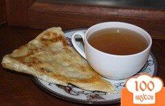Фото рецепта: «Грузинский лаваш с начинкой на закуску»