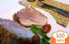 Фото рецепта: «Буженина из отварной свинины со специями»