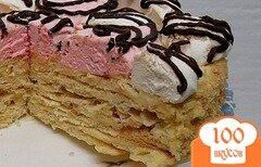 Фото рецепта: «Торт *Нежный* с зефиром»