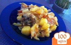 Фото рецепта: «Жаркое со свиными ребрышками»