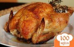 Фото рецепта: «Целая курица в мультиварке»