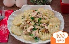 Фото рецепта: «Итальянские ньокки со сливочно-мясным соусом»