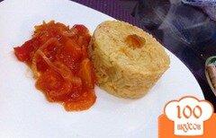 Фото рецепта: «Рис с шафрном на гарнир»