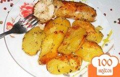 Фото рецепта: «Очень вкусная домашняя куриная колбаска - гриль»