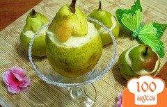 Фото рецепта: «Десерт из груш с кремом»