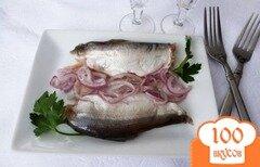 Фото рецепта: «Белая рыба (пелядь) соленая с цедрой цитрусовых»