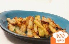 Фото рецепта: «Картофель фри на гриле»