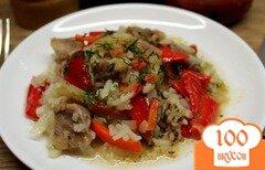 Фото рецепта: «Рис со свининой и овощами»