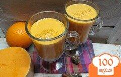 Фото рецепта: «Коктейль тыква с апельсином»