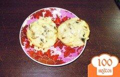 Фото рецепта: «Жульен в картофеле»