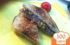 Фото рецепта: «Клаб-сэндвич с тунцом»