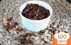 Фото рецепта: «Банановая гранола с кедровыми орешками»