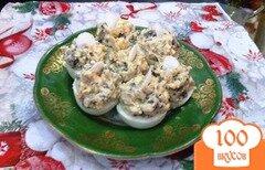 Фото рецепта: «Яйца фаршированные белыми грибами»