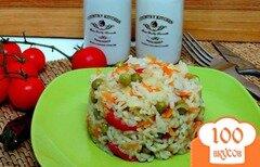 Фото рецепта: «Рис с горошком»