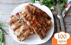 Фото рецепта: «Свиные ребрышки в остром имбирно-цитрусовом соусе»
