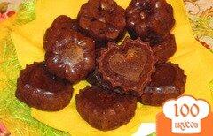 Фото рецепта: «Шоколадные кексы с белым шоколадом»