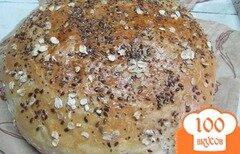 Фото рецепта: «Белый хлеб с зернами чиа и»