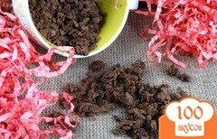 Фото рецепта: «Апельсиновая гранола с какао»