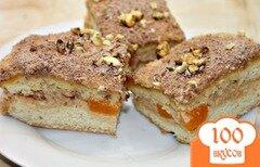 Фото рецепта: «Бисквитный торт с масляным кремом и мандаринами»