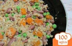 Фото рецепта: «Жаренный рис с овощами»