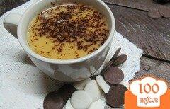 Фото рецепта: «Мандариновый напиток на молоке с шоколадом»
