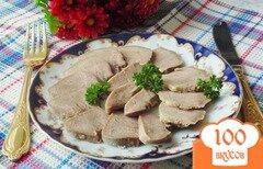 Фото рецепта: «Отварной свиной язык»