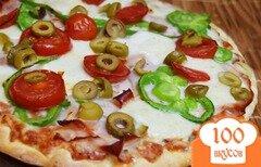 Фото рецепта: «Пицца с шинкой»