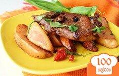 Фото рецепта: «Свинина с айвой и специями»
