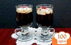 Фото рецепта: «Кофе чёрный лес»