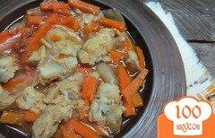 Фото рецепта: «Хек с овощами в томате»