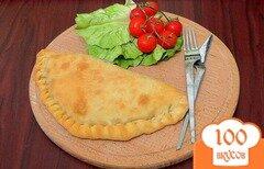 Фото рецепта: «Пицца * Кальцоне* с грибами»