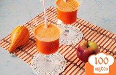 Фото рецепта: «Микс из тыквы, яблока и моркови»