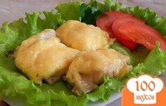 Фото рецепта: «Минтай под сыром»