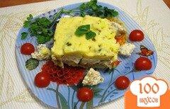 Фото рецепта: «Запеканка из картофеля с рыбой»