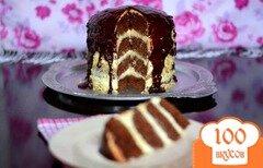 """Фото рецепта: «Шоколадный торт """"Колдунья""""»"""