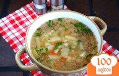 Фото рецепта: «Перловый суп в мультиварке»